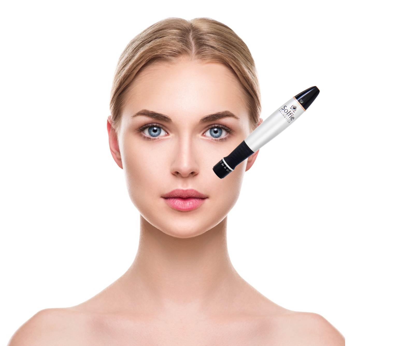 Microneedling Pen mit Model